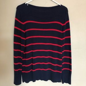 Chaps Women's Stripe Sweater Extra Large